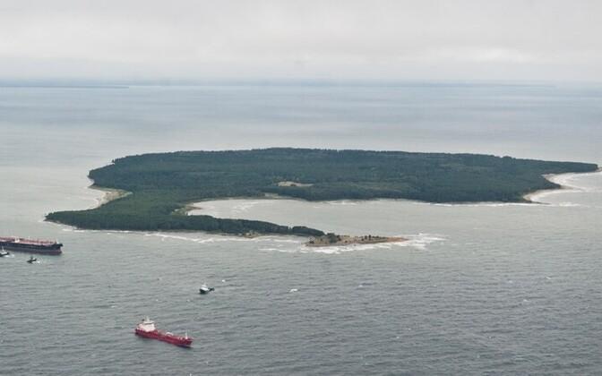 Aegna island