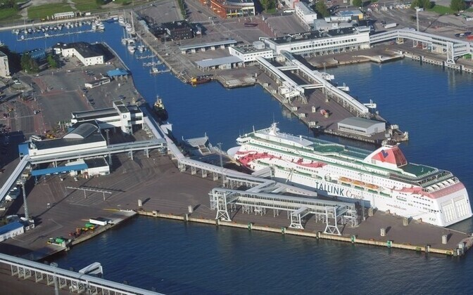 Port of Tallinn's passenger terminals in Tallinn. Photo is illustrative.
