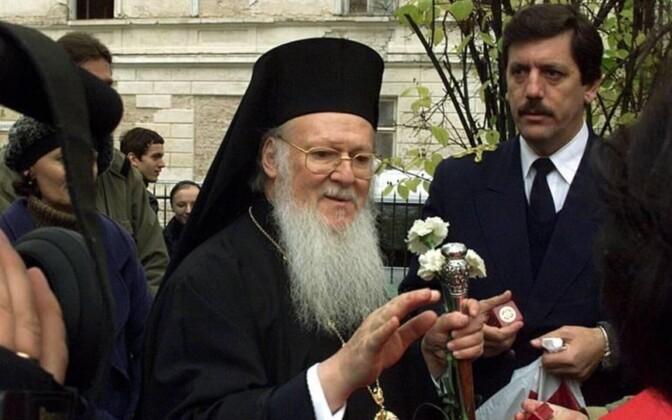 Patriarch Bartholomew during his last visit