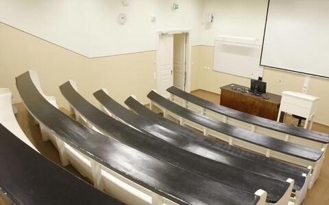 Auditoorium Tartu ülikoolis.