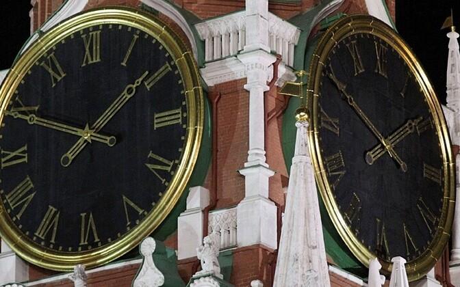 Kell Moskva Kremli Spasski tornis RIA Novosti/Scanpix