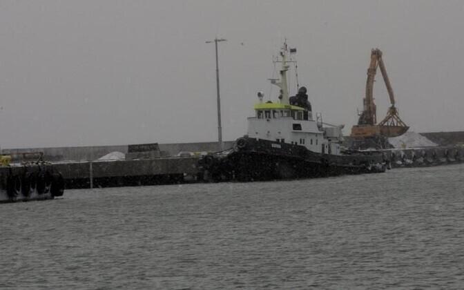 Порт Кунда.