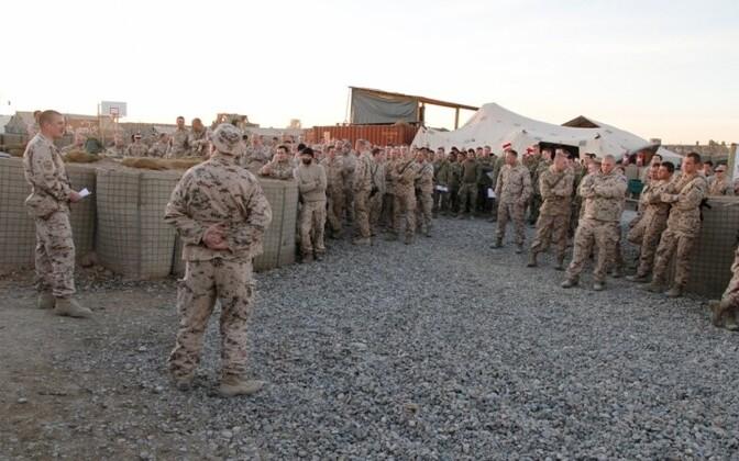 Эстонские военные в Афганистане. Иллюстративное фото.