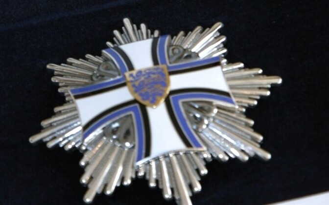 Order of the Cross of Terra Mariana, 1st Class, the highest award granted by Estonia to non-Estonian citizens.