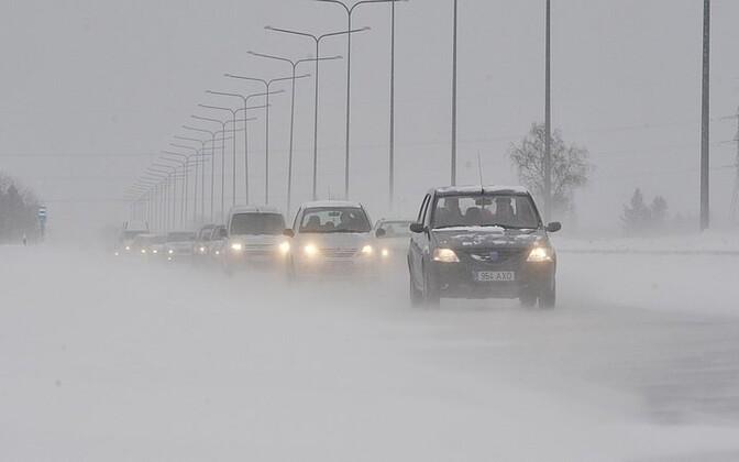 Туман сильно уменьшает зону видимости.