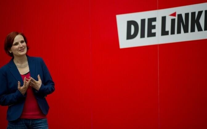 Saksamaa Vasakpartei liider Katja Kipping AFP Photo/Scanpix