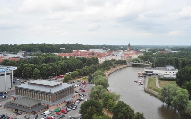 View of Tartu. Soon to be scannable by smartphones, all over.