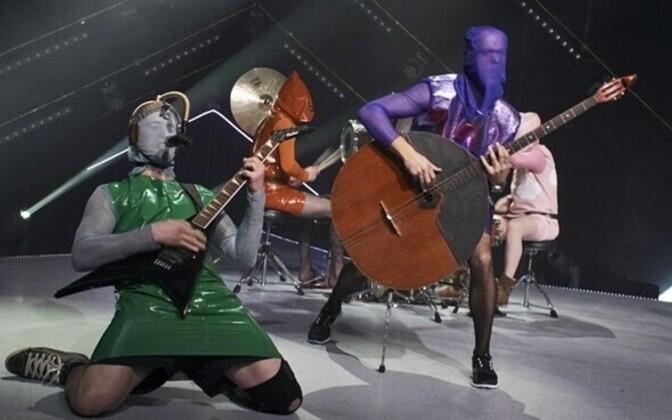 Punk group Winny Puhh, the favorite in the ERR News Eesti Laul poll