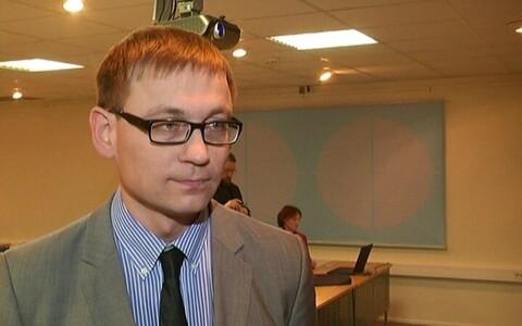 Председатель Центрального союза профсоюзов Эстонии Пеэп Петерсон.