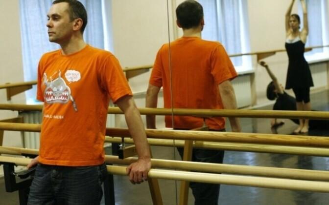 Танцор и хореограф Дмитрий Харченко
