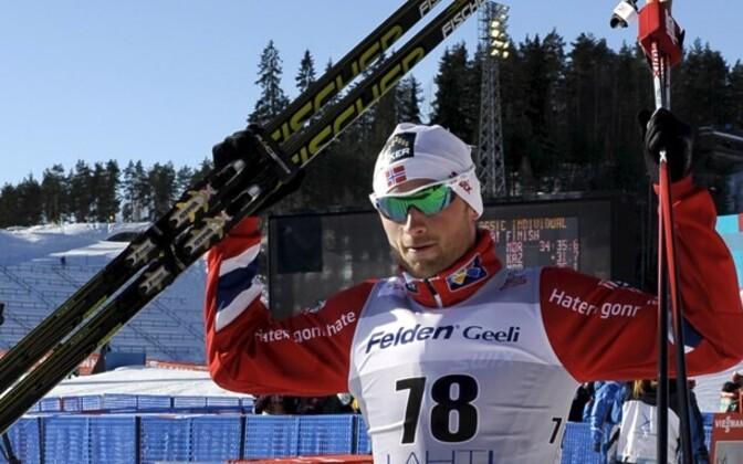 Норвежский лыжник Петтер Нортуг.