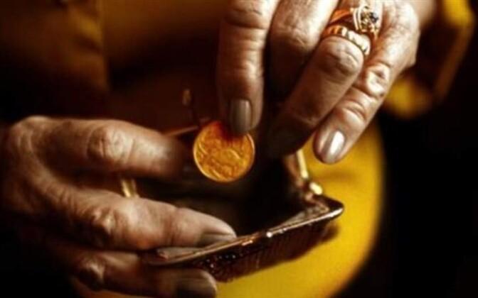 Число пенсионеров в Эстонии растет с каждым годом.