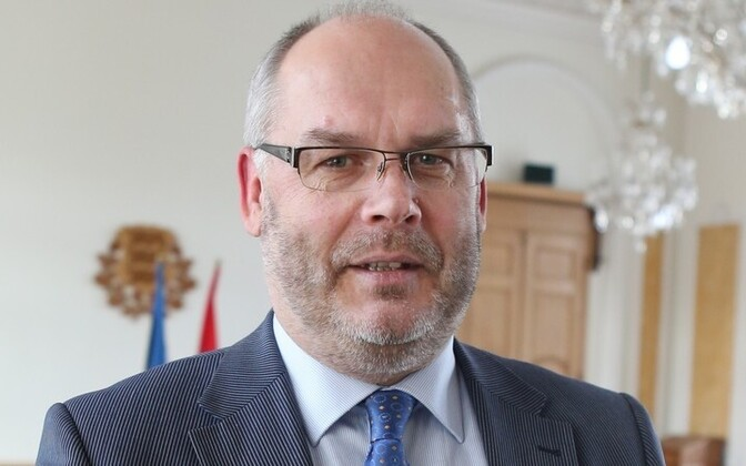 Riigikontrolör Alar Karis.