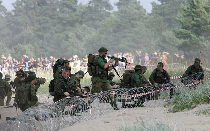 The opening of the 2010 Erna Raid.