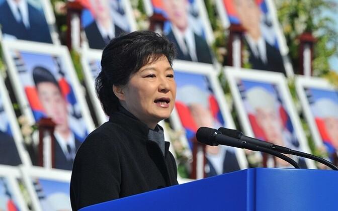 Korea vabariigi president Park Geun-hye AP/Scanpix