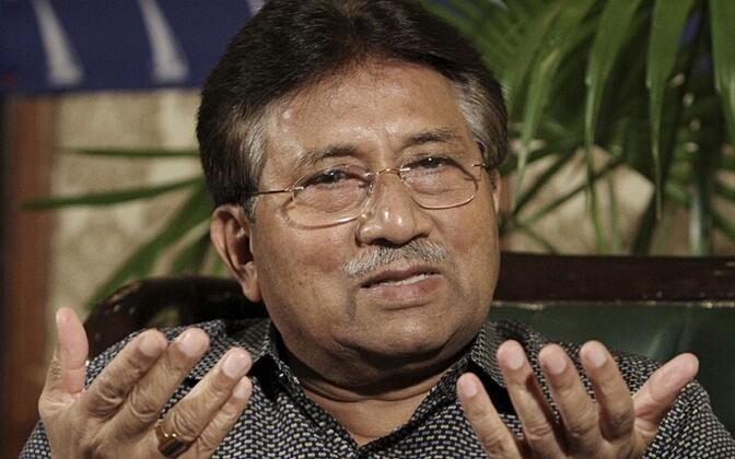Pakistani ekspresident Pervez Musharraf AP/Scanpix