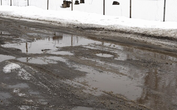 Quality of local roads has been a constant source of worry in Estonia