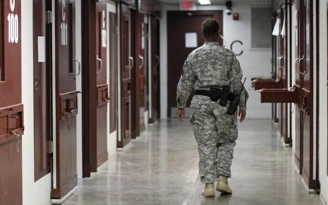 Военная тюрьма на базе США в Гуантанамо, Куба. Иллюстративное фото.