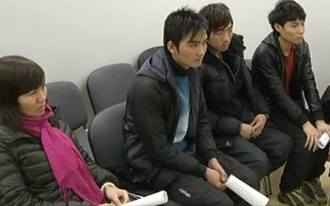 A group of Vietnamese citizens were caught illegally migrating to Estonia last February.