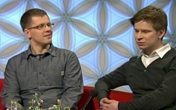 Developers Mait Müntel and Rait Arro.