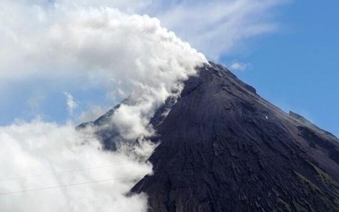 Mayoni vulkaan.