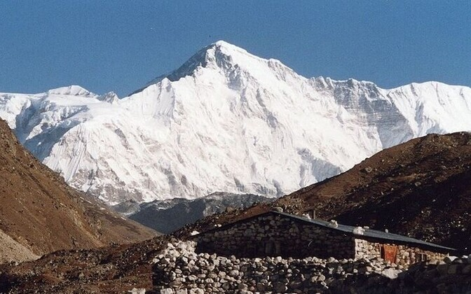 Cho Oyu translates to Turquoise Goddess from Tibetan.