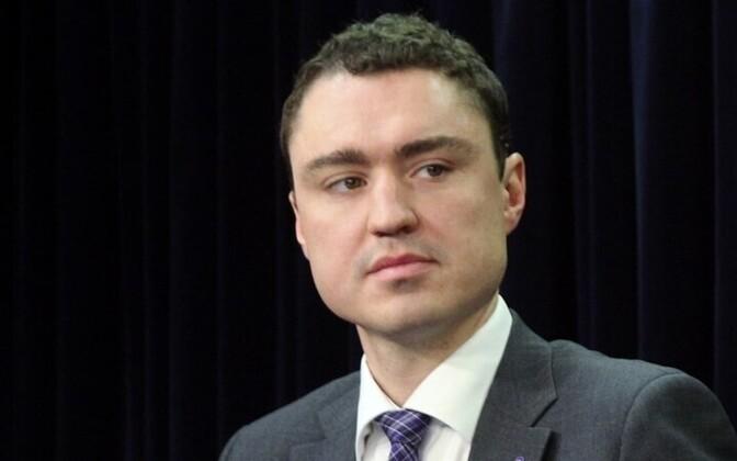 Minister of Social Affairs Taavi Rõivas