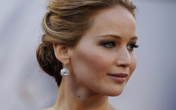 Näitlejanna Jennifer Lawrence