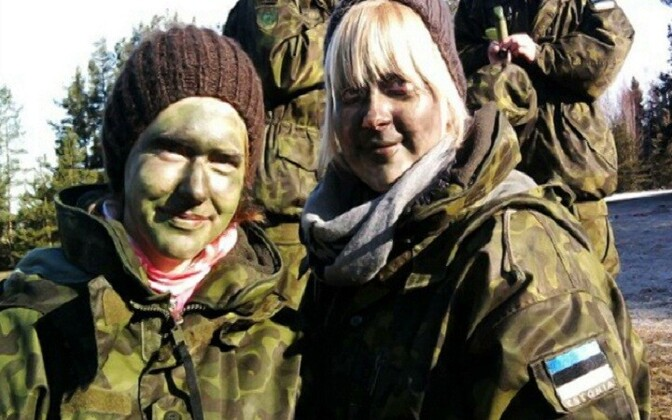 While conscription in Estonia is not mandatory for young women, some voluntarily choose this path after graduating high school.