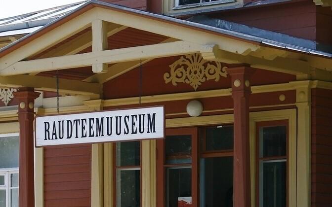 The Railway Museum in Haapsalu.