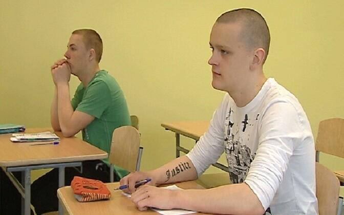 Kuristiku gümnaasiumi õpilased