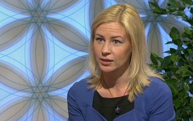 European Commission representation in Estonia economics advisor Katrin Höövelson.