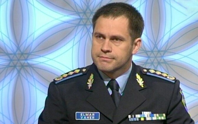 Director General of the Police and Border Guard Board Elmar Vaher