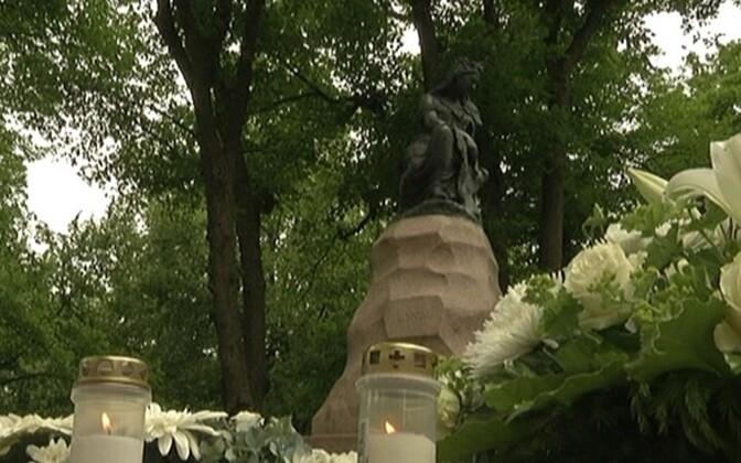 Статуя Линды