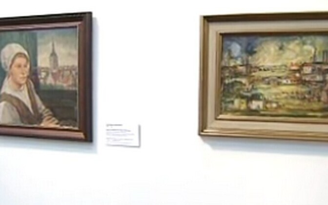 Enn Kunila maalikogust pärit teosed 2010.