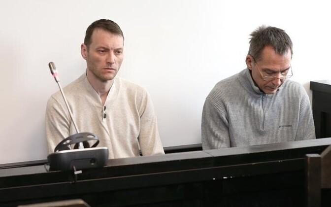 Сергей Старых и Ральф Миллер.