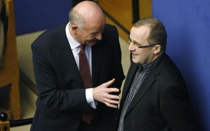 Toomas Varek (left) and Ain Seppik