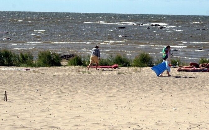 Lemme beach near Ikla