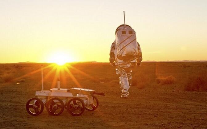 Marsil hakkamasaamiseks tuleb kanda spetsiaalset kostüümi