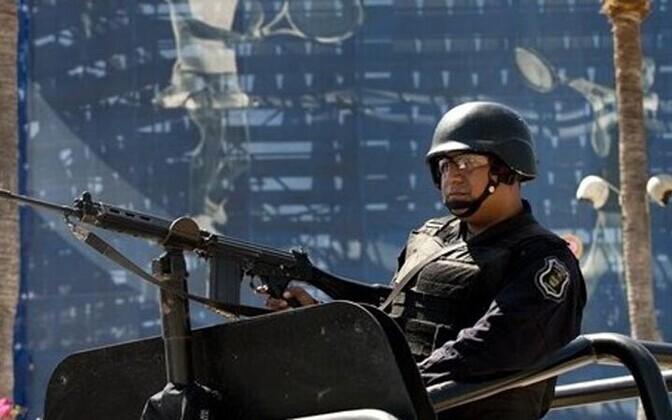 Mehhiko politseinik.