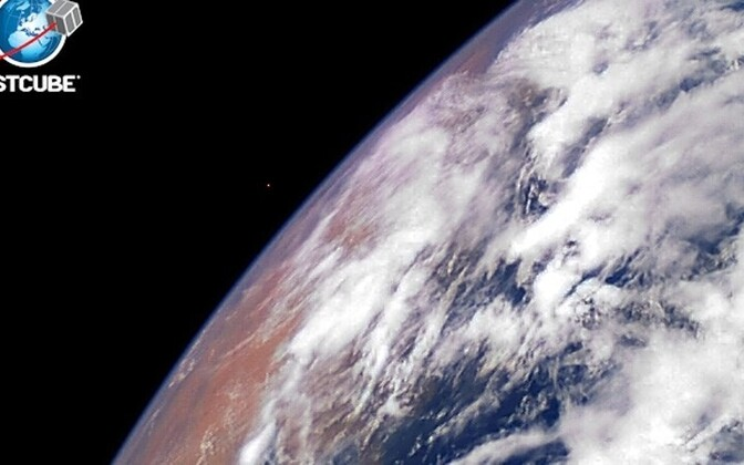 The first image of Earth from Estonia's satellite.