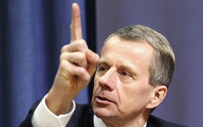 Finance Minister Jürgen Ligi