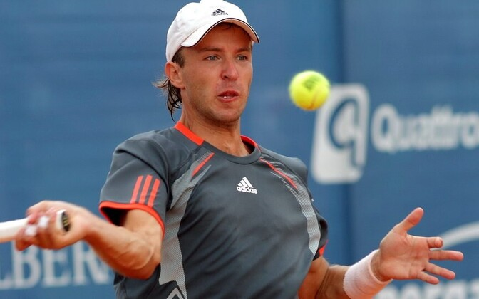 Таллиннский теннисист Владимир Иванов.