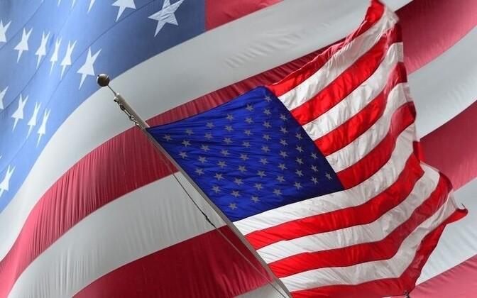 Государственный флаг США. Иллюстративное фото