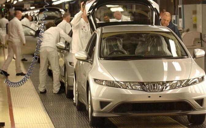 Концерн Honda закроет завод в Великобритании.
