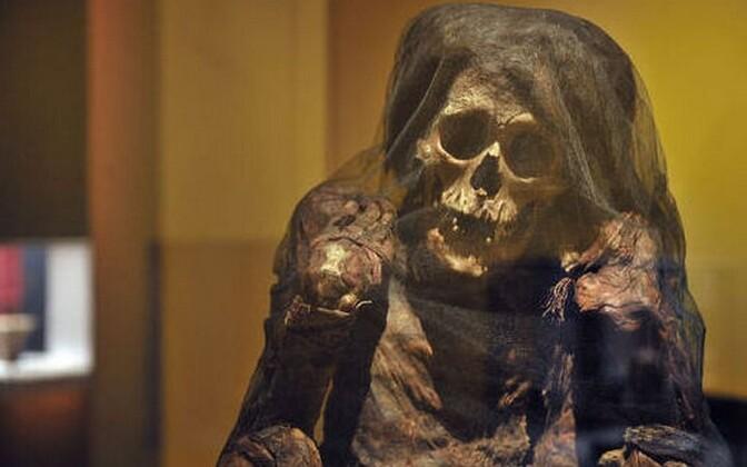 Tänaseni on avastanud mitmeid Inkade muumiaid