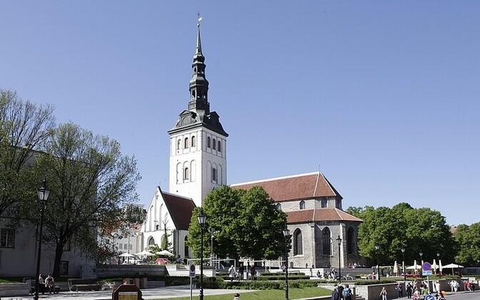 St. Nicholas' Church in Tallinn.