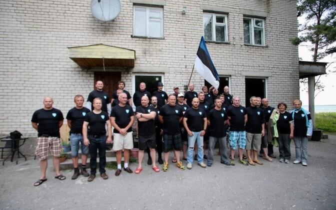 Former members of the defiant Jäägrikompanii gathered this June