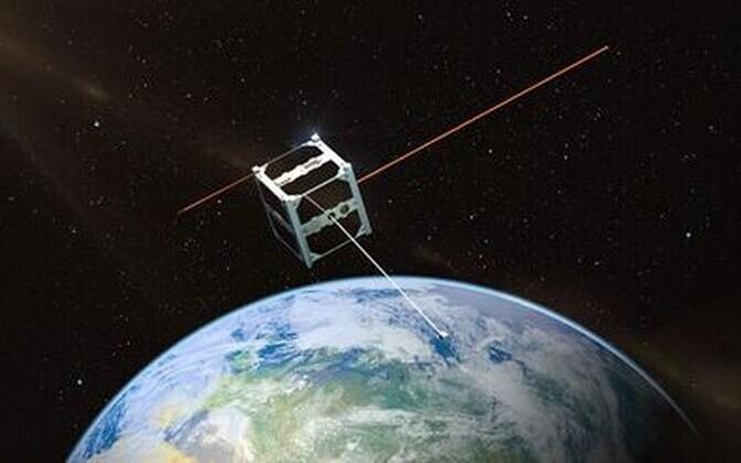 Nii avaras üksinduses Eesti satelliit alati siiski ei liigu.