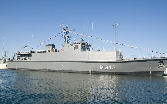 Miinijahtija Admiral Cowan Postimees/Scanpix